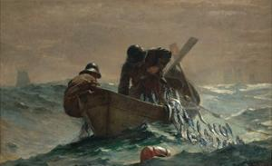 The Herring Net by Winslow Homer by Winslow Homer