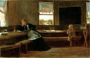 The Noon Recess, 1873 by Winslow Homer