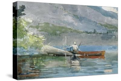 The Red Canoe, 1884