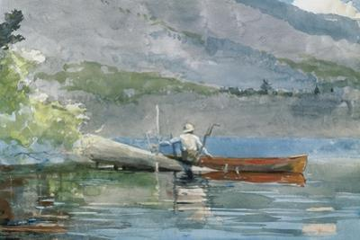 The Red Canoe, 1884 by Winslow Homer