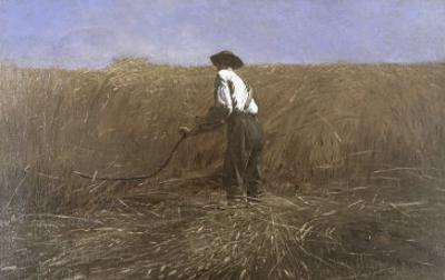 The Veteran in a New Field by Winslow Homer
