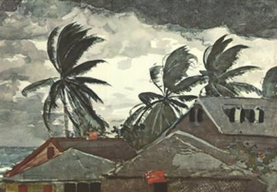 Tornado, Bahamas by Winslow Homer