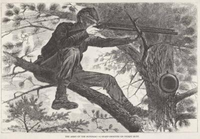 U.S. Civil War Sharpshooter by Winslow Homer