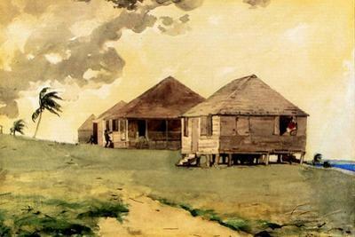 Upcoming Tornado, Bahamas, 1885