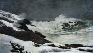 Winter Coast by Winslow Homer
