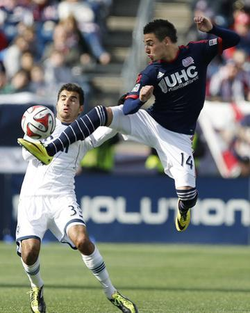 Mar 22, 2014 - MLS: Vancouver Whitecaps vs New England Revolution - Steven Beitashour by Winslow Townson