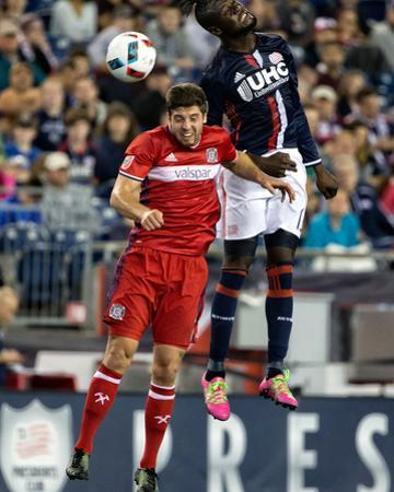 Mls: Chicago Fire at New England Revolution by Winslow Townson