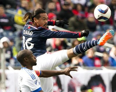 MLS: Montreal Impact at New England Revolution by Winslow Townson