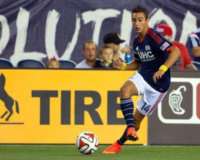 Sep 7, 2014 - MLS: Chicago Fire vs New England Revolution - Diego Fagundez by Winslow Townson