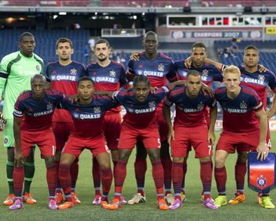 Sep 7, 2014 - MLS: Chicago Fire vs New England Revolution