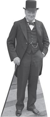 Winston Churchill 1929 Lifesize Standup