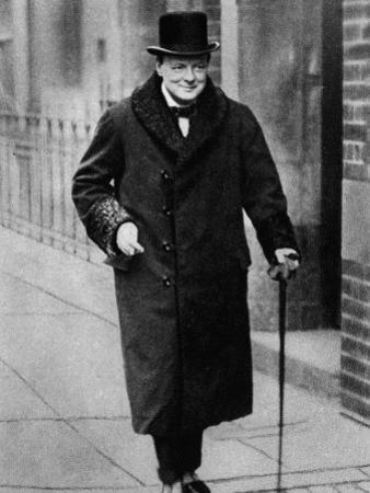 Winston Churchill British Statesman