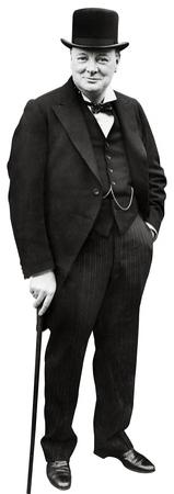 Winston Churchill Lifesize Standup