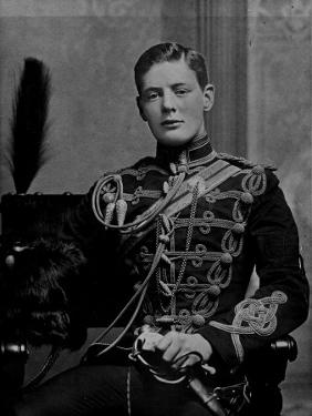 Winston Churchill Serving in British Army