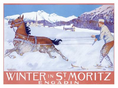 Winter in St Moritz