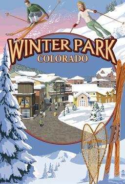 Winter Park, Colorado Montage