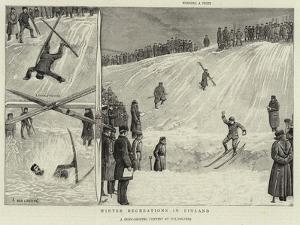 Winter Recreations in Finland