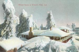 Winter Scene at Wilson's Peak