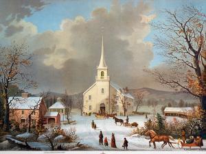 Winter Scene, C1875