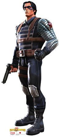 Winter Soldier - Marvel Contest of Champions Game Lifesize Standup