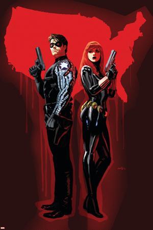 Winter Soldier No. 14: Barnes, Bucky, Black Widow