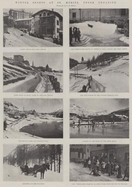 Winter Sports at St Moritz, Upper Engadine