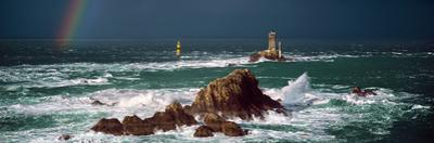 Winter Storm Weather at La Vieille Lighthouse, Finistere, Brittany, France