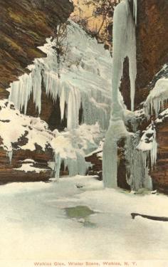 Winter, Watkins Glen, New York