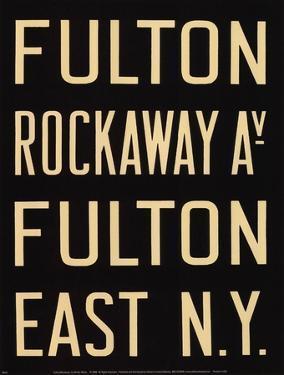 Fulton/Rockaway by Winter Works