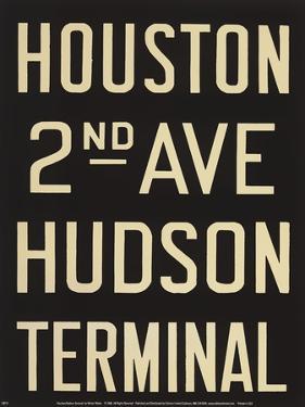 Houston/Hudson Terminal by Winter Works