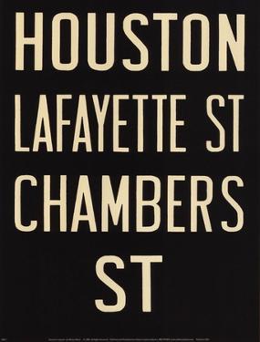 Houston/Lafayette by Winter Works