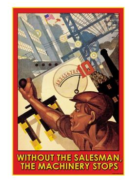 Without the Salesman