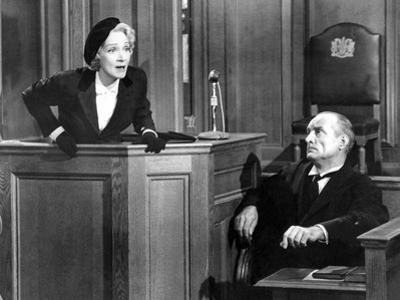 Witness For The Prosecution, Marlene Dietrich, 1957