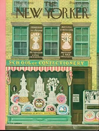 The New Yorker Cover - March 2, 1946