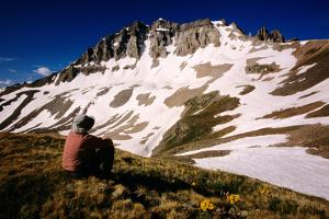 Gilpin Paek from Yankee Boy Basin on Blue Lakes Trail, San Juan Mountains, Colorado, United States by Witold Skrypczak