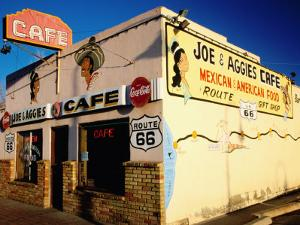 Joe and Aggies Cafe, Route 66, Holbrook, Arizona by Witold Skrypczak