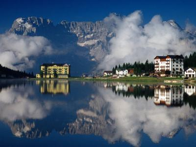 Lago Di Misurina, Gruppo Del Surapis, Dolomites, Dolomiti Bellunesi National Park, Italy by Witold Skrypczak