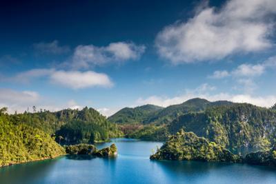 Laguna La Canada at Lagunas De Montebello National Park, Chiapas, Mexico