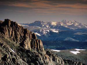 Longs Peak from Summit Lake Area, Mt. Evans Road, Front Range, Denver, Colorado by Witold Skrypczak