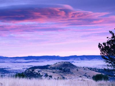 Marfa Plain in Davis Mountains State Park, Fort Davis, Texas