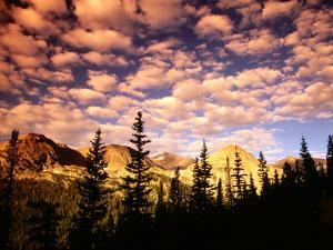Peaks and Sky from Diamond Lake Trail, Indian Peaks Wilderness, Colorado by Witold Skrypczak