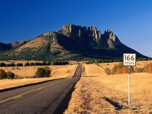 Sawtooth Mountain in Davis Mountains, Fort Davis, Texas by Witold Skrypczak