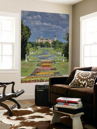 Schlossgarten with Castle in Distance