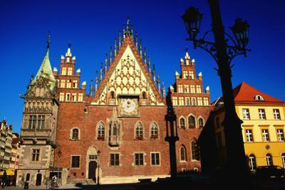 Town Hall Facade, Wroclaw, Dolnoslaskie, Poland, Europe