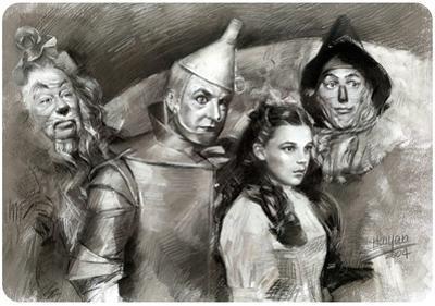 Wizard of Oz Black & White