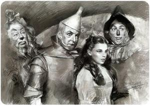 Wizard of Oz Black & White