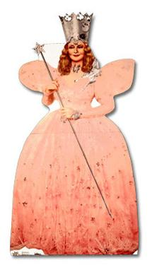 Wizard of Oz - Glinda the Good Witch Lifesize Standup
