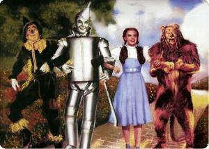 Wizard of Oz Illustration