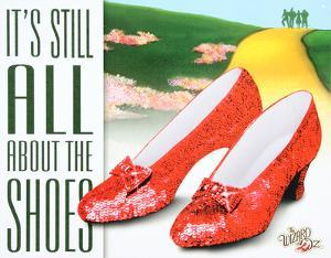 Wizard of Oz - It's All About the Shoes Movie Tin Sign