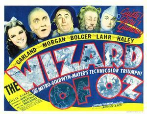 Wizard of Oz, Judy Garland, Frank Morgan, Ray Bolger, Bert Lahr, Jack Haley, 1939